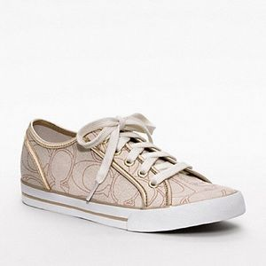 Coach • Dee Gold Sneakers